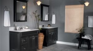 10 Elegant Black Bathroom Stands